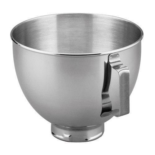 Kitchenaid 4.5 Quart Mixing Bowl with Handle Fit Pivot Head Stand Mixer K45sbwh Gift for Your Family