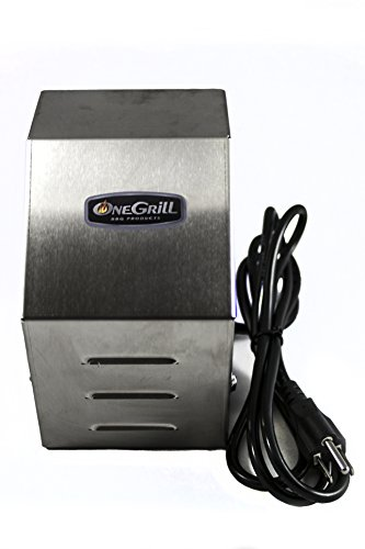 OneGrill Heavy Duty Stainless Steel Grill Rotisserie Motor