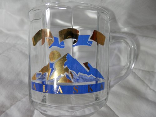 Alaska Clear Coffee Cup, Souvenir Cup (Luminarc Coffee Cup compare prices)
