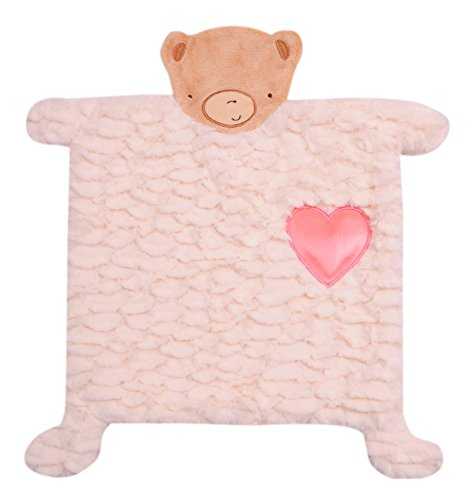 Twinkles of Joy Light Up and Musical Security Blanket, Pink Heart