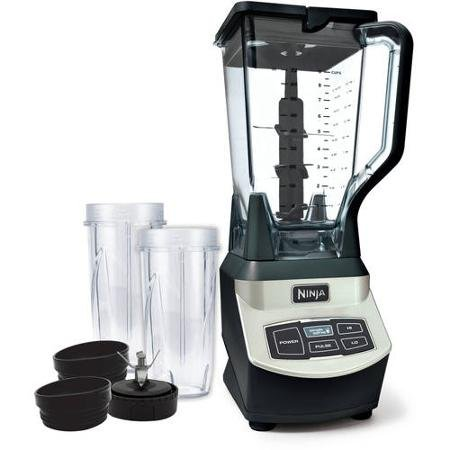 Ninja Professional Blender with Single Serve Blending Cups (Ninja Blender Single Cups compare prices)