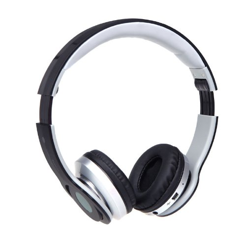 New Arrival!!! Limited Sale!!! Foldable Wireless Stereo Headphone Headset Bluetooth Edr Mic Fm Tf Slot Black In Cell Phones