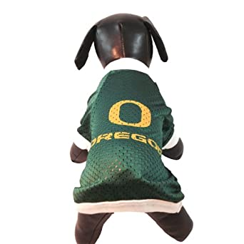 NCAA Oregon Ducks Athletic Mesh Dog Jersey, Team Color, XX-Small