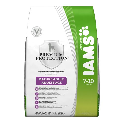 Iams Premium Protection Mature Adult(7-10 years) 13.4 - Pound bag