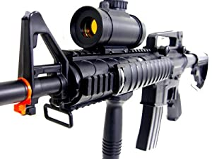 M83a2 Electric Auto Airsoft Machine Gun Laser M16