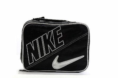 Lunch Box Nike Boys Black Swoosh Insulated Lunch Box