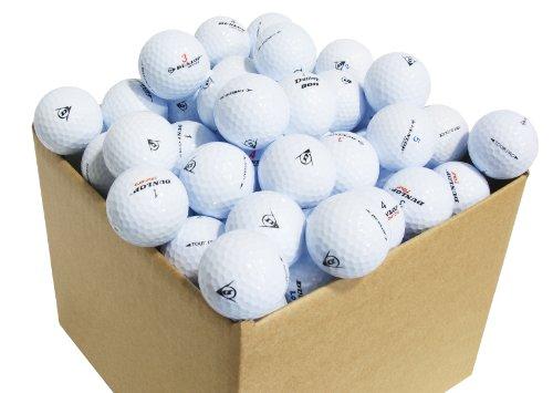 Second Chance Golfbälle 100 Dunlop Qualitäts, weiß, VAL-100-BOX-DUN