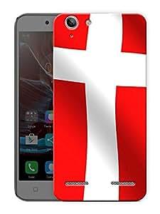"Denmark Flag Printed Designer Mobile Back Cover For ""Lenovo Vibe K5 - K5 Plus"" By Humor Gang (3D, Matte Finish, Premium Quality, Protective Snap On Slim Hard Phone Case, Multi Color)"