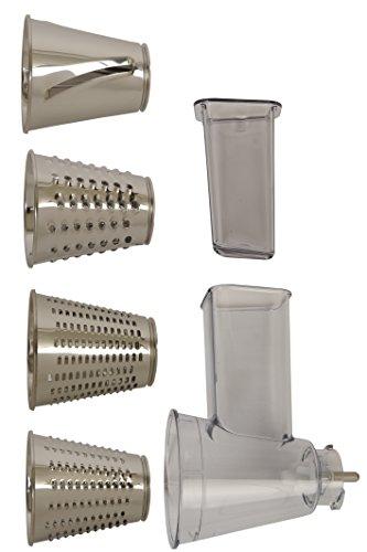 Moulinex-XF6320B1-Kit-Rp-Tranch-Accessoire-pour-Robot-Ptissier-Masterchef-Gourmet-4-Cnes-pour-Rper-Fin-et-Epais-et-Trancher-PlastiqueInox