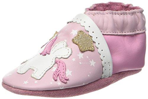 RobeezNICE PONY - Scarpine e pantofole primi passi  Unisex - Bimbi 0-24 , Rosa (Pink (133)), 23/24