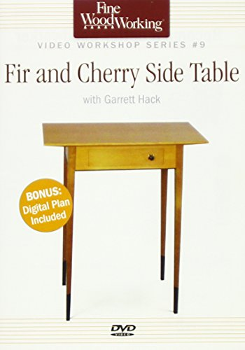 Fine Woodworking Video Workshop Series - Fir and Cherry Side Table (Dvd Side Table compare prices)