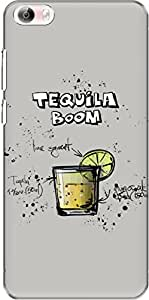 The Racoon Grip Gray Tequila Boom hard plastic printed back case/cover for Vivo X Play 5 / Vivo X Play 5 Elite
