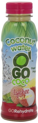 Go Coco Coconut Water with Lychee and Lemon 330 ml (Pack of 6)