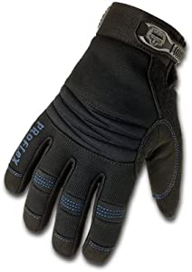 ERGODYNE ProFlex 818WP Thermal Waterproof Utility Glove, Black, Medium