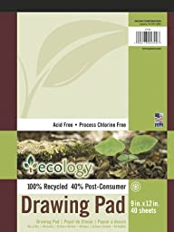 Ecology Recycled Drawing Pad (4740)