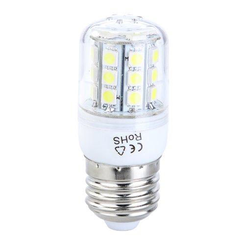 Kingzer 5W E27 220V 30 Led White Led Light Corn Bulb Lamp With Cover Smd 5050