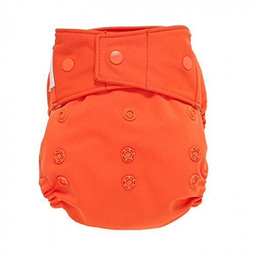 GroVia Cloth Diaper Shell - Snap - Persimmon - 1