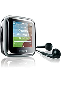 Philips SA2945/02 GoGear Spark 4GB MP3 Player with 1.5-inch LCD and FM Radio