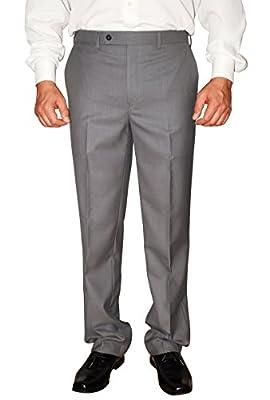 Calvin Klein Men's Body Pants Slim Fit Flat Front Dress Pants