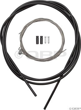 Buy Low Price Shimano Stainless MTB Brake Cable and Housing Set (Black) (Y80098021)