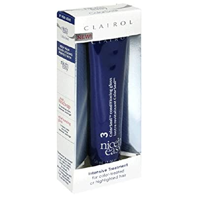Best Cheap Deal for Clairol Nice 'n Easy Intensive Treatment, For Color-Treated or Highlighted Hair, 1.96 fl oz (58 ml) from Clairol - Free 2 Day Shipping Available