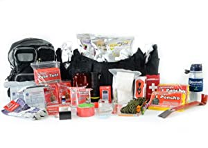 Hurricane Emergency Bug Out Bag - Deluxe Two Person 72 Hour Go Pack - Survival... by Legacy Premium Food Storage