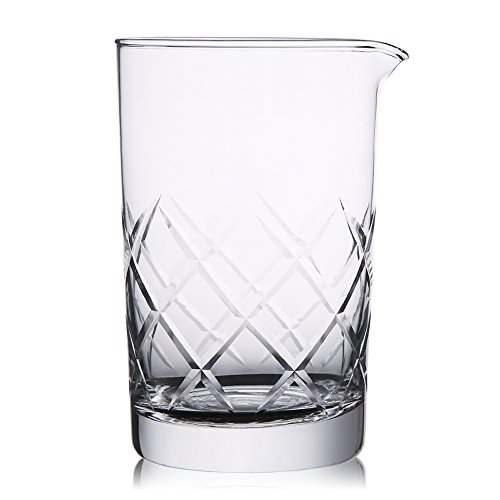 Hiware Mixing Glass 24oz/700ml Thick Bottom Cocktail Glass Preferred by Pros and Amateurs Alike, Make Your Own Specialty Cocktails (Drink Mixing compare prices)