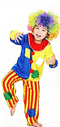 Lady Favorite Halloween Girls Boys Funny Clown Costumes