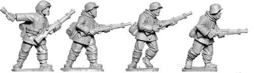 Artizan Designs WWII 28mm: Late War German Rifles 2 (Winter) (4)