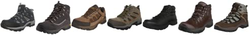Hi-Tec Men's Britton Hill Brown/Brown/Gold Hiking Shoe P001213/043/99 11 Uk