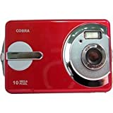 """DCA1030 Red 10 Mega Pixel camera with 2.4"""" LCD screen"""