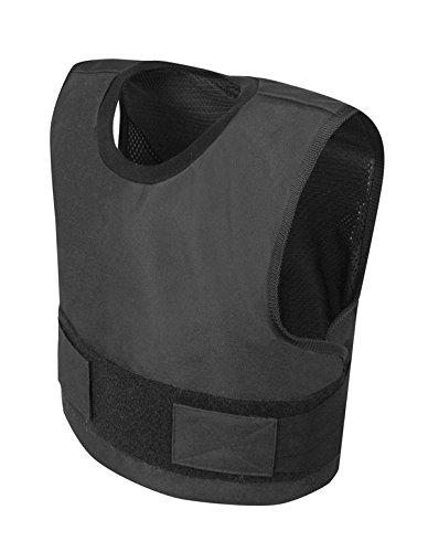 ケブラー ボディアーマー 防弾 IIIA 防刃 II ブラック (L)