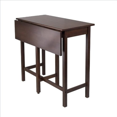 best offer winsome lynnwood drop leaf high table buying