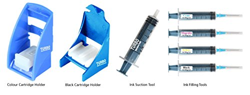 Turbo tool kit for ink filling, cartridge Head Cleaning/Ink Suction for HP 680/803/901 Cartridge  available at amazon for Rs.420