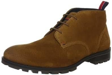 Tommy Hilfiger CARLOS 6B FM56814746, Herren Desert Boots, Braun (COGNAC 606), EU 42