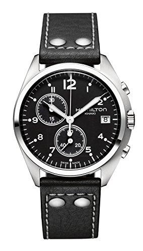 [ハミルトン]HAMILTON 腕時計 Khaki Pilot Pioneer Chrono(カーキ パイロット パイオニア クロノ) H76512733 メンズ 【正規輸入品】
