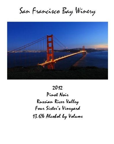 2011 San Francisco Bay Winery Pinot Noir 375 Ml