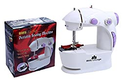 BMS Lifestyle Pro Portable Mini Easy to Use Electric Sewing Machine (Colours as per Availability)