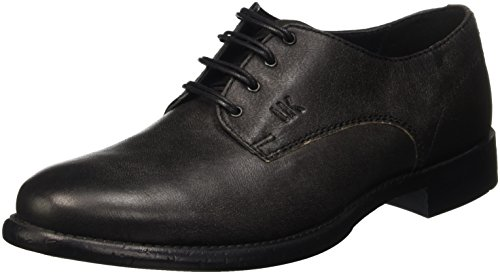 Lumberjack York, Scarpe Low-Top Uomo, Nero (Cb001 Black), 42 EU