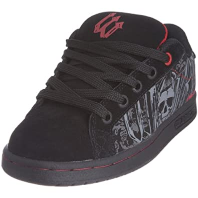 World Industries Youth Smith Le Skate Shoe Black/Bones WIN ...