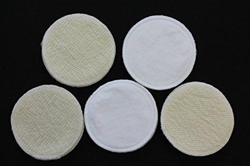 10-Stck-Stilleinlagen-BaumwolleWolleBourette-Seide-3-lagig-12cm-NEU