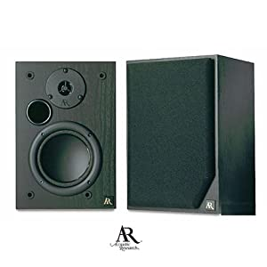 Acoustic Research AR 215PS Main 5 -1/4 2 way Bookshelf / Stereo Speaker (BLACK)