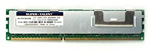 Super Talent DDR3 1333 8 GB/256Mx8 ECC/REG Micron Chip Server Memory W13RC8G8M