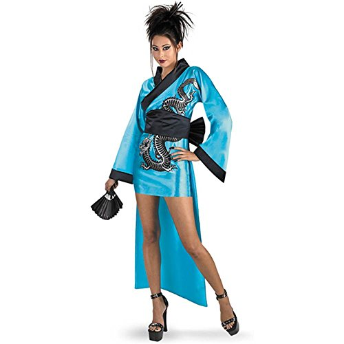 Dragon Geisha Girl Teen Costume - Teen (7-9)
