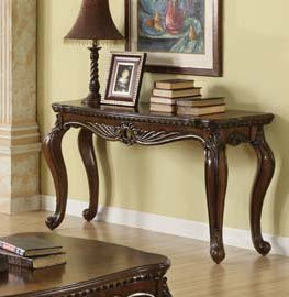 Acme 80066 Remington Collection Sofa Table, Brown Cherry Finish