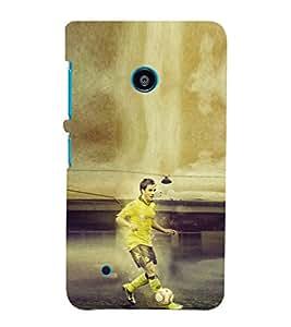 Ebby Premium Printed Mobile Back Case Cover With Full protection For Nokia Lumia 530/Microsoft Lumia 530 (Designer Case)
