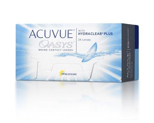 Acuvue Oasys Contact Lenses (24 lenses/box - 1 box)