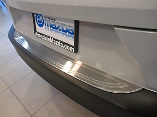 Mazda CX-3 New OEM rear stainless steel bumper guard accessory (Mazda 3 Rear Bumper Guard compare prices)