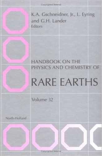 Handbook on the Physics and Chemistry of Rare Earths, Volume 32