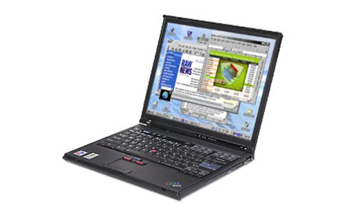 IBM ThinkPad T41 (2379DJU) Laptop (1.60 GHz Pentium M (Centrino), 256 MB RAM, 40 GB Hard Drive, DVD/CD-RW Combo)